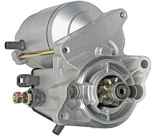 Rareelectrical NEW STARTER MOTOR COMPATIBLE WITH KUBOTA TRACTOR COMPACT BX2360 BX24 BX25 945634 16695-63012 945634 19269-63011 16695-63012 16695-63013 19090-17861 128000-0050 228000-0971 228000-3660