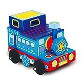 Sportspiele Kann Gespleißtes Papphaus Spielzeugautomodell Der Kinder Papierpappkarton DIY Handgemachtes