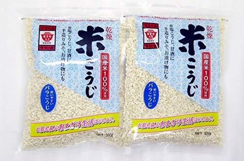 ますやみそ 乾燥米こうじ 300g x 2袋