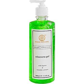 KHADI NATURAL Ayurvedic Aloevera Gel With Dispenser, 500ml
