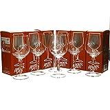 Apollo - Bicchieri da cocktail Spritz, 6 pezzi, in confezione regalo, 51 cl