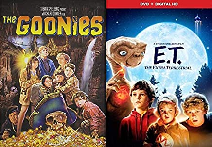Steven Spielberg's Kids Classic Adventures DVD pack: E.T. The Extra Terrestrial & The Goonies