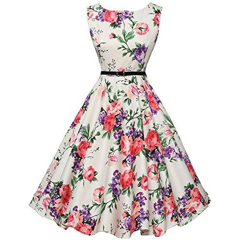 Vintage 50s Style Rockabilly Tea Party Dress Now $8.49