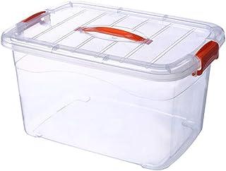 Boîte de Rangement en Plastique,boîte de Rangement,boîte de Rangement Transparente pour vêtements,boîte de Rangement Couverte