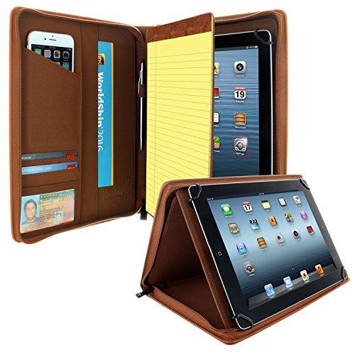 Khomo - Funda Universal con Cremallera para Tablet marrón marrón Universal