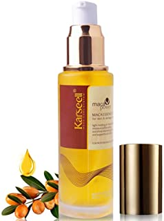 Argan Oil Karseell Pure Moroccan Oil Essential Oils Hair Serum Conditioner for Hair Skin and Nails Treatment Rich in Anti-...