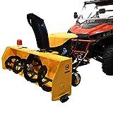 Massimo 60' 60in 420cc 2 Stage Snow Blower for UTV/ATV Side X Side w/Polaris + Universal Attachment