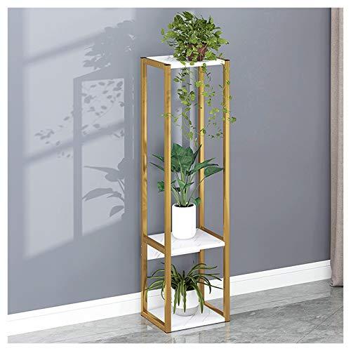 Yillanjun plantenhouder voor binnen, goud/zwart, bloempot, meerdere lagen, met toebehoren