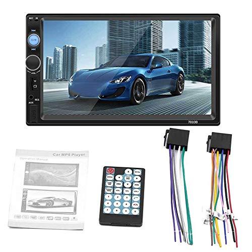7010B para Android para interconexión de Apple HD Pantalla a Color de 7 Pulgadas Tarjeta Mp4 Car Mp5 Player Call Reversing Player