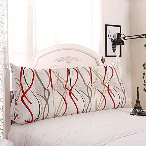 Xuping matras driehoek katoen grote dikte sofakussen taille hals multifunctioneel, wasbaar, 12 kleuren, 5 maten