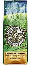 Tres Hermanos Fairtrade Low-Acid Organic Coffee (Colombian Supremo Medium Whole Bean Coffee, 2 lb)