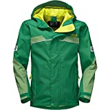 Jack Wolfskin Boys Topaz Texapore Waterproof Breathable Rain Jacket