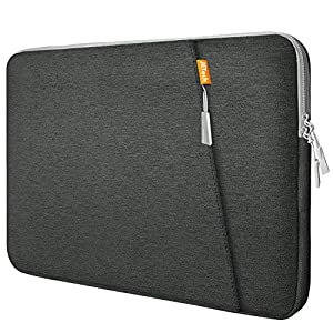 JETech Laptop Sleeve Compatible for 13.3-Inch Notebook Tablet iPad Tab, Waterproof Shock Resistant Bag Case with Accessory Pocket