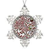 Adornos de Navidad, Wheres Waldo Ser Santa Ornamento Árbol Colgante Decoración Regalo Para Familias Amigos,3 Pulgadas