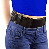 WHIRLGEE Gun Holster Concealed Carrying Holster Gun Accessories and Abdominal Strap Holster are Flexible Compatible with Many Types of Pistols Suitable for Men and Women (50 inch)
