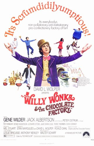 Pop Culture Graphics Willy Wonka and The Chocolate Factory (1971) – 11 x 17 – Stil A