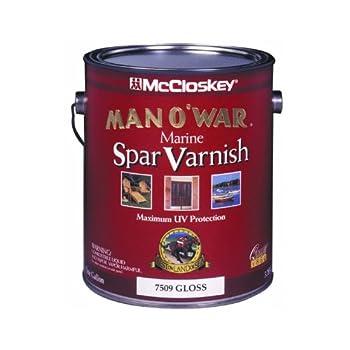 McCloskey/Valspar 80-0007509-07 Man O War Spar Marine Varnish - Gloss ~ 1 Gallon