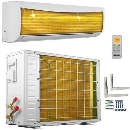 A++/A++ ECO Smart INVERTER WiFi/WLAN-Ready 9000 BTU Split Klimaanlage mit Wärmepumpe Klimagerät mit Heizfunktion (2,6 kW)