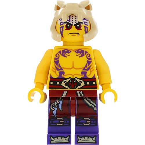 LEGO Ninjago - Figura de Krait (Anacondrai) con armas (competición de los elementos)