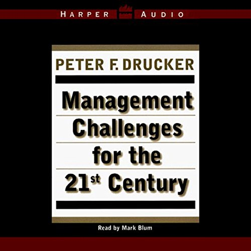 Management Challenges for the 21st Century audiobook cover art