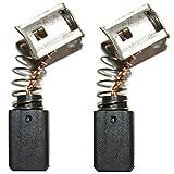 Balais de charbon de qualité pour marteau perforateur Hilti TE1 / TE5 / TE10 / TM8 / TE-5 / TE-10 / TM-8 / TE 1 / TE 5 / TE 10.