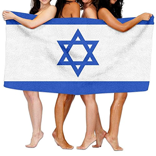bikini bag Beach Towel Flag of Israel 80