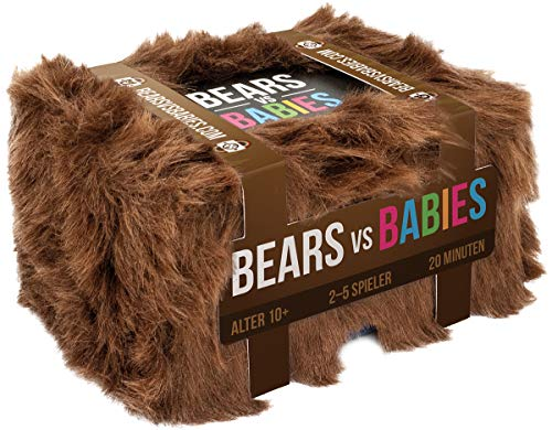 Asmodee Bears vs Babies, Partyspiel, Kartenspiel, Deutsch