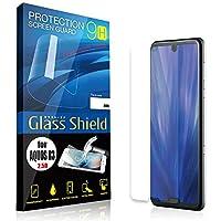 AnglersLife 液晶保護フィルム AQUOS R3 2.5D 9H 指紋防止(全透明) ガラスフィルム 強化ガラス アクオス アールスリー