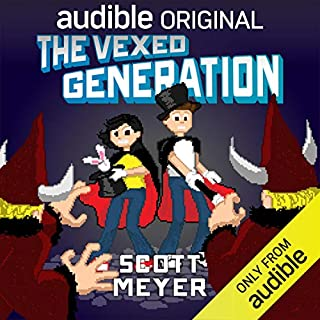 The Vexed Generation audiobook cover art