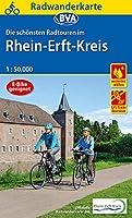 Radwanderkarte BVA Die schoensten Radtouren im Rhein-Erft-Kreis 1:50.000, reiss- und wetterfest, GPS-Tracks Download
