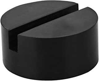 Rubber Jack Pads (Slotted) - Universal, Standard-Size - Frame Rail Protector