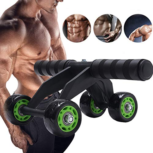 Ab Wheel Roller Core Abs Trainer Cruncher Roller Workout Machine perfect Fitness voor Core Abs Uitrol Exercise