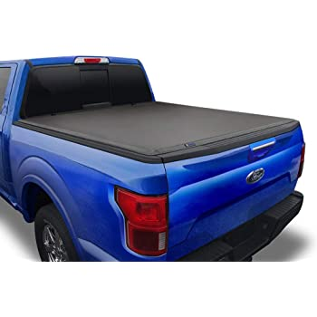 Tyger Auto T3 Soft Tri-Fold Truck Bed Tonneau Cover Compatible with 2017-2021 Ford F-250 F-350 Super Duty | Styleside 8' Bed | TG-BC3F1125