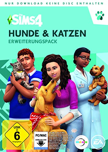 Die Sims 4 - Hunde & Katzen (EP 4) DLC [PC Download – Origin Code]