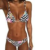 beautyjourney Costumi Donna Mare Due Pezzi Push up Sexy Spiaggia Ragazza Bikini Donna Mare Push up Imbottito Reggiseno Donna Costume Donna Due Pezzi