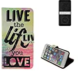 K-S-Trade® 360° Wallet Case Protective Cover For HTC