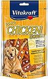 Vitakraft Pure Chicken Bonas, Bâtonnets à Mâcher pour Chien au Poulet et au Fromage, Sachet Fraîcheur de 80 g