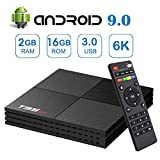 Android 9.0 TV Box, T95MINI Android Boxes with 2GB RAM 16GB ROM Quad-core