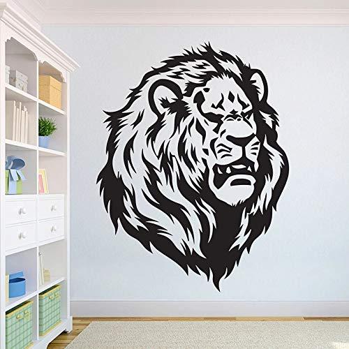 León hermoso León etiqueta de la pared África Wild Lion Pride Animal Home Design Art Office decoración del hogar