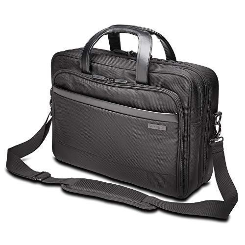 Kensington Business Laptop Aktentasche Contour 2.0, 15,6 Zoll, Umhängetasche für Damen und Herren, Ideales Handgepäck mit wasserdichten Sicherheitstaschen für Laptops und Tablets, K60386EU