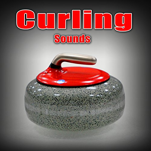 One Curling Player Sweeping Fast 2
