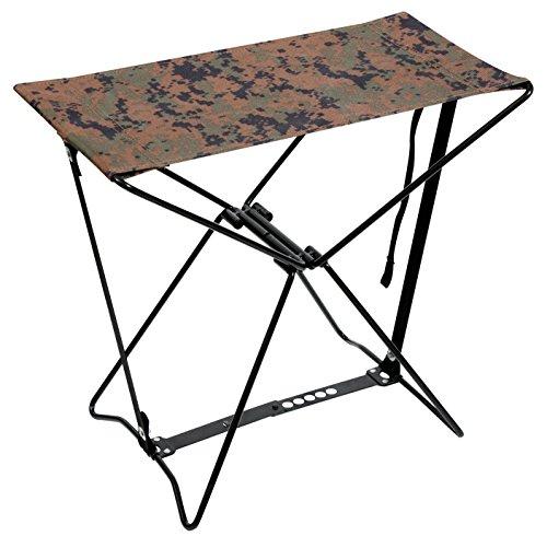Rothco Folding Camp Stool, Woodland Digital