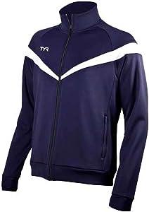 TYR Sport WSAJ2A Mens Freestyle Warm-Up Jacket
