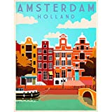 Wee Blue Coo Travel Tourism Amsterdam Holland Netherlands