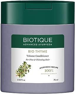 Biotique Bio Thyme Volume Conditioner For Fine & Thinning Hair, 75 ml