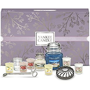 Customer reviews Yankee Candle Gift Set Box including Candles and Accessories (Set of 11):Amedama