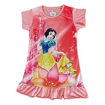 Snow White Disney Princess Dress Girl Children s Clothes Party Sleeveless Kids Pajamas  5T