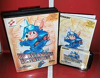 Rocket Knight Adventures US Cover with Box and Manual For Sega Megadrive Genesis Video Game Console 16 bit MD card - Sega Genniess - Sega Ninento, 16 bit MD Game Card For Sega Mega Drive