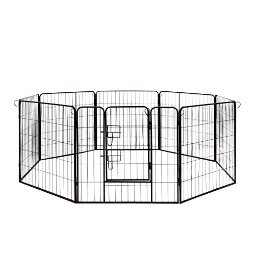 ALEKO DK32X32 Heavy Duty Pet Playpen Dog Kennel