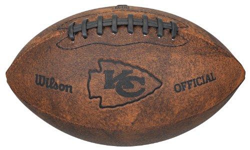 NFL Kansas City Chiefs Vintage Throwback Fußball, 22,9 cm